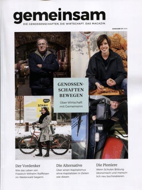 Titelseite Magazin gemeinsam