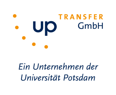 """Firmenlogo UP Transfer GmbH"